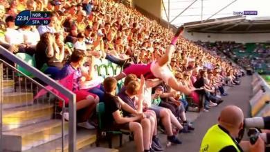 RESUME VIDÉO. Champions Cup. Jérémy Sinzelle s'envole dans les tribunes mais le Stade Français se prend les pieds dans le tapis