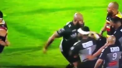 Video. Challenge Cup : Le coup de poing de Jone Qovu lors de la défaite de La Rochelle contre Gloucester
