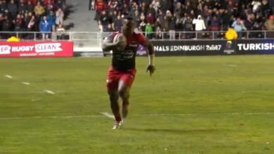 Vidéo. Champions Cup. Josua Tuisova offre le bonus offensif à Toulon pour son retour