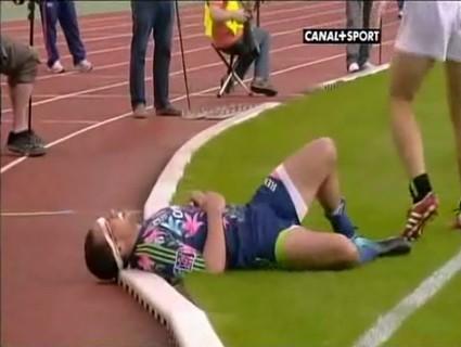 Julien Arias marque un superbe essai contre La Rochelle