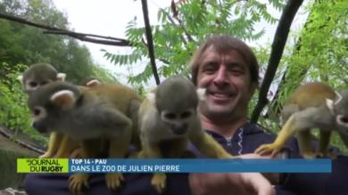 VIDEO. INSOLITE - Section Paloise : dans l'intimité du 2e-ligne Julien Pierre... au zoo