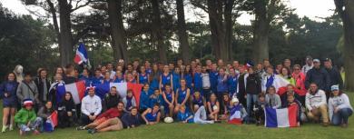 PHOTOS. Le joli parcours de la délégation française aux Junior Touch Championships