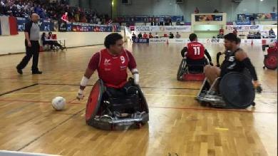 L'équipe de France de rugby-fauteuil se qualifie pour les Jeux Paralympiques de Rio