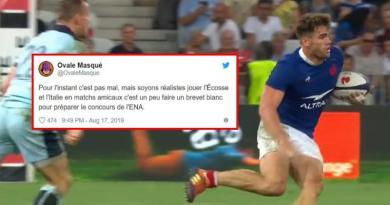 La belle victoire du XV de France face à l'Ecosse vue par les réseaux sociaux !