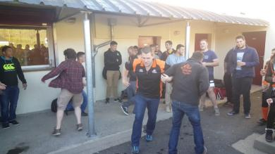 VIDEO. Rugby Amateur : en 1ère Série du comité Auvergne, on chante la bête du Gévaudan en 3e mi-temps