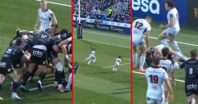 La combinaison géniale des frères Horne pour l'essai de Glasgow en 1/2 finale [VIDEO]
