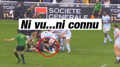 VIDEO. Top 14 - La fourberie de Jean-Charles Orioli face au Racing 92