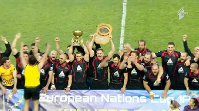 VIDEO. La Géorgie domine la Roumanie et remporte le Championnat d'Europe des Nations 2016