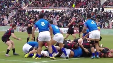 RESUME VIDEO. La Géorgie sort victorieuse du choc frontal avec les Samoa