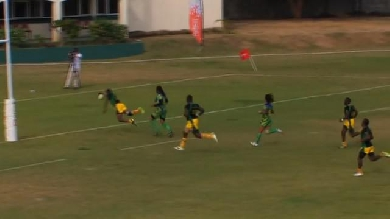 VIDEO. La Jamaïque remporte le premier match de qualification au Mondial 2019 avec Nigel Owens au sifflet