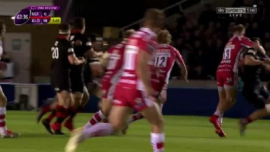 VIDEO. Gloucester remporte la Challenge Cup malgré le carton rouge de Bill Meakes