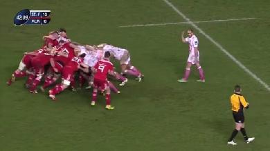 VIDEO. Champions Cup. La mêlée du Stade Français met le Munster au supplice