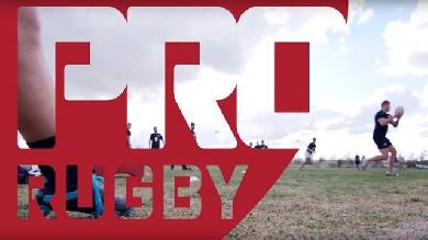 VIDEO. Etats-Unis - Des stars de l'ovalie et des joueurs de football américain s'invitent au coup d'envoi du Pro Rugby