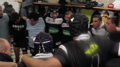 La vie du rugby amateur : les vestiaires
