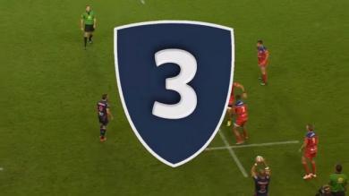 VIDEO. Pro D2 - FCG. Lancé comme un frelon, Gervais Cordin pose son adversaire sur les fesses pour l'essai