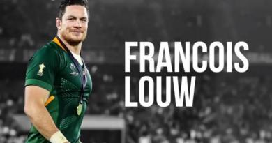 Le champion du monde François Louw met un terme à sa carrière !