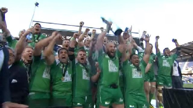 RESUME VIDEO. Le Connacht bat le Leinster et remporte la première Ligue Celte de son histoire
