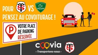 Top 14 : le Stade Toulousain se lance dans le covoiturage pour la réception de Pau
