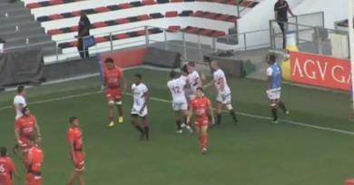 VIDÉO. Match amical : sans trembler, le LOU s'impose à Mayol face à Toulon en inscrivant trois essais