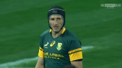VIDÉO.  Rugby Championship - Springboks. Johan Goosen a vécu une soirée compliquée face aux Pumas