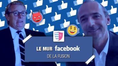 Le mur Facebook spécial fusion Racing 92 / Stade Français, épisode 1