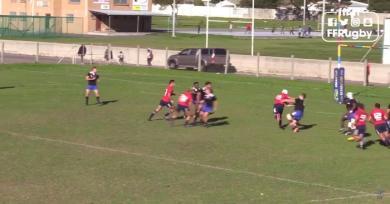 RESUME VIDEO. France U19 - Le Palois Vincent Pinto conclut un superbe système face à la Western Province U20 par un gros raffut
