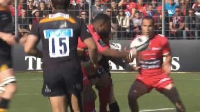 VIDÉO. Champions Cup. Le RCT bafouille son rugby mais l'emporte largement face aux Wasps (32-18)