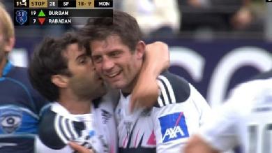 VIDÉO. Le Stade Français dit adieu à ses anciens... et bonjour aux phases finales