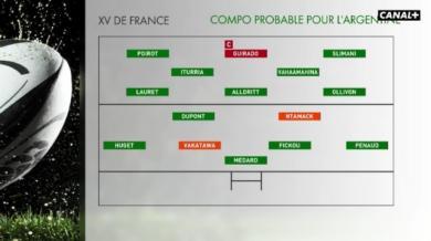 Coupe du monde - Le XV de France avec Ntamack à l'ouverture et Vakatawa au centre ?