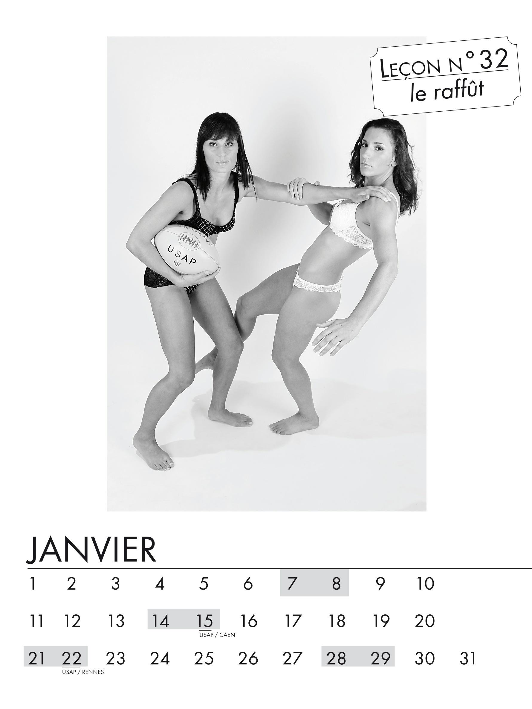Les filles de l'USAP sortent un calendrier