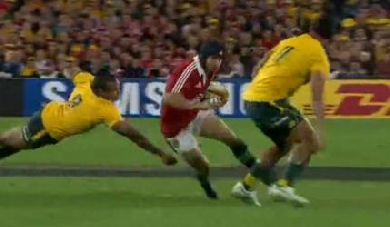 VIDEO. Lions : Halfpenny magique contre les Wallabies (41-16)