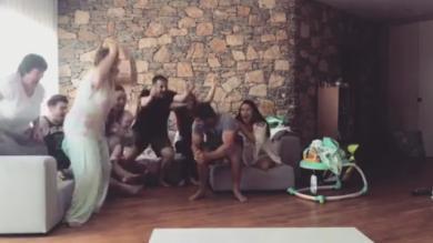 VIDEO. Lions britanniques et irlandais : entouré par sa famille, Leigh Halfpenny explose de joie à l'annonce de sa sélection