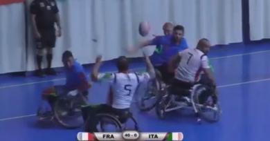VIDEO. Coupe du Monde de Rugby XIII Fauteuil. La France atomise l'Italie et retrouvera l'Angleterre en finale