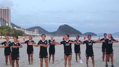 VIDEO. Rio 2016. Les Black Ferns néo-zélandaises font péter un haka sur la plage brésilienne