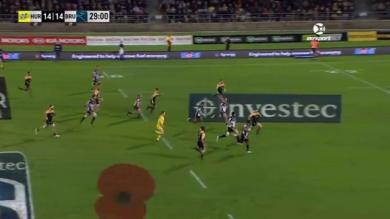 VIDEO. Super Rugby. Les Brumbies marquent l'un des plus beaux essais l'année puis sont punis par les Hurricanes
