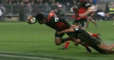 RÉSUMÉ VIDÉO. Super Rugby. L'opportunisme de Dagg et la puissance de Tamanivalu font la différence pour les Crusaders