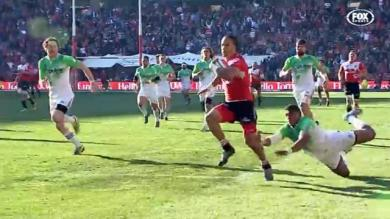 VIDÉO. Super Rugby. Les Lions surpassent les Highlanders et se hissent en finale (42-30)