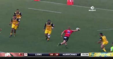 RÉSUMÉ VIDÉO. Super Rugby. Les Lions écœurent les Hurricanes et se hissent en finale après un superbe come-back