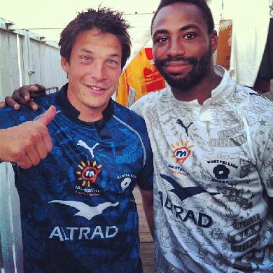 Les maillots 2012-2013 de Montpellier