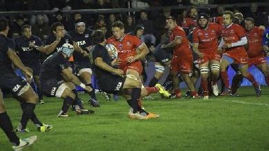 VIDEO. Les Pumas trop forts pour un FCG en manque de rugby