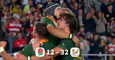 Les Springboks matent l'Angleterre en finale : L'AFRIQUE DU SUD EST CHAMPIONNE DU MONDE !