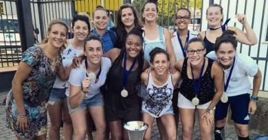 VIDEO. Les joueuses de l'Université Toulouse III - Paul Sabatier championnes d'Europe de rugby à 7