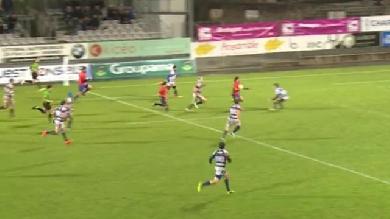 VIDEO. Fédérale 1 - Limoges : Mani Vakaloa distribue les cartes de visite dans la défense de Vannes