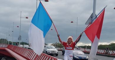 PHOTOS. Présent aux fêtes de Bayonne, Géronimo va reprendre du service le temps du derby face à Biarritz