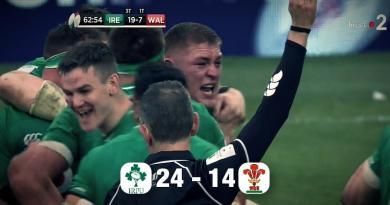 6 Nations - L'Irlande s'offre le champion en titre et prend la tête du Tournoi