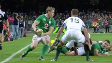 VIDÉO. L'Irlande remporte la première victoire de son histoire en Afrique du sud (26-20)