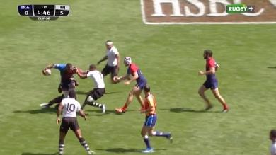 VIDÉO. London 7s. La France explose contre les Fidji en 1/4 de finale (40-7)