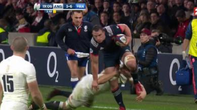"VIDEO. 6 Nations. Angleterre-France : Picamoles en mode ""King Louis"""