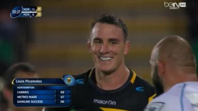 VIDEO. Champions Cup. Louis Picamoles continue d'impressionner avec les Saints