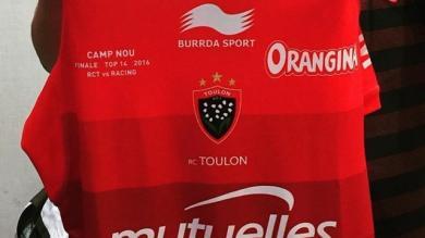 Top 14 - Le RCT floque un maillot spécial pour la der de Bernard Laporte